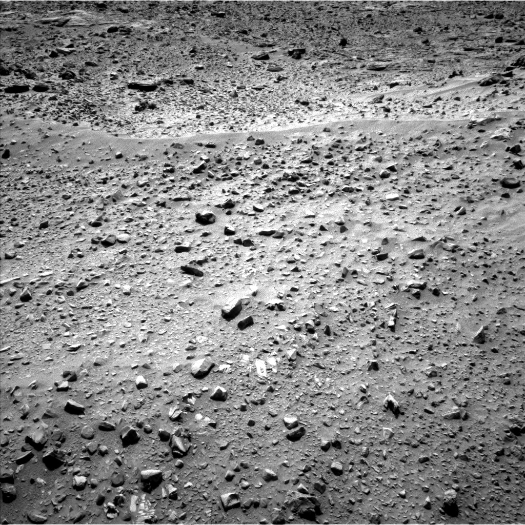 Nasa's Mars rover Curiosity acquired this image using its Left Navigation Camera on Sol 733, at drive 2448, site number 40