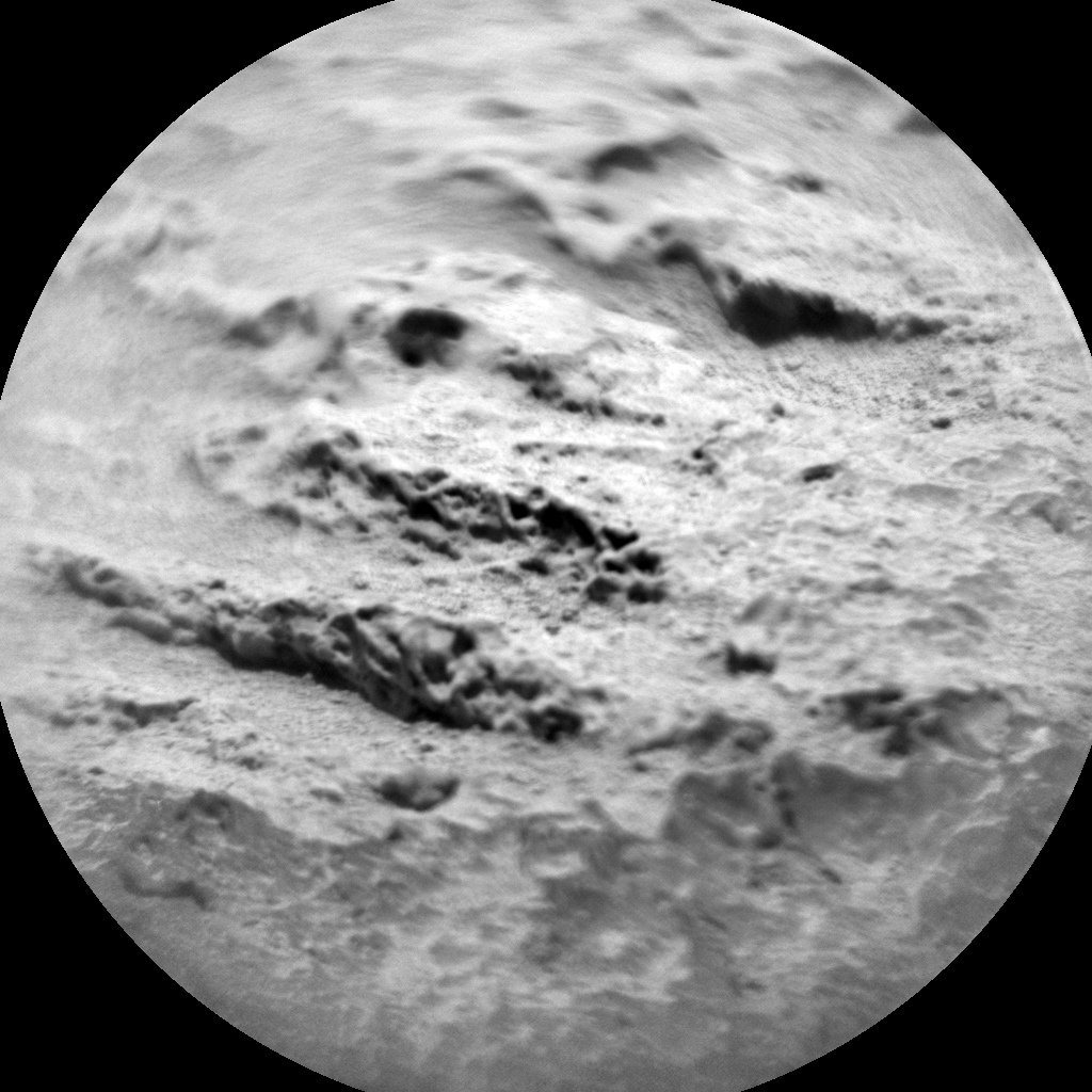 Nasa's Mars rover Curiosity acquired this image using its Chemistry & Camera (ChemCam) on Sol 733, at drive 2040, site number 40