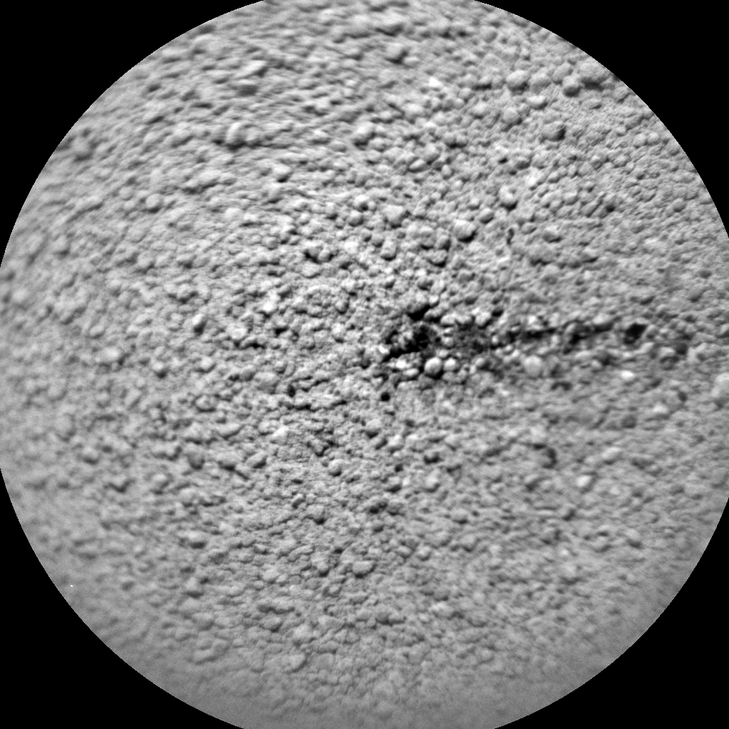 Nasa's Mars rover Curiosity acquired this image using its Chemistry & Camera (ChemCam) on Sol 734, at drive 0, site number 41