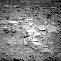 Nasa's Mars rover Curiosity acquired this image using its Right Navigation Camera on Sol 735, at drive 72, site number 41