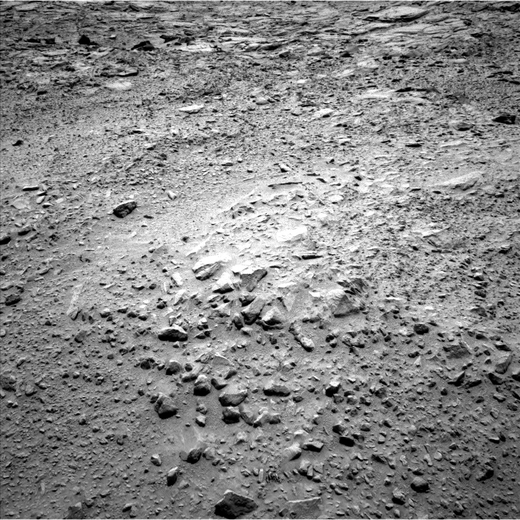 Nasa's Mars rover Curiosity acquired this image using its Left Navigation Camera on Sol 738, at drive 556, site number 41