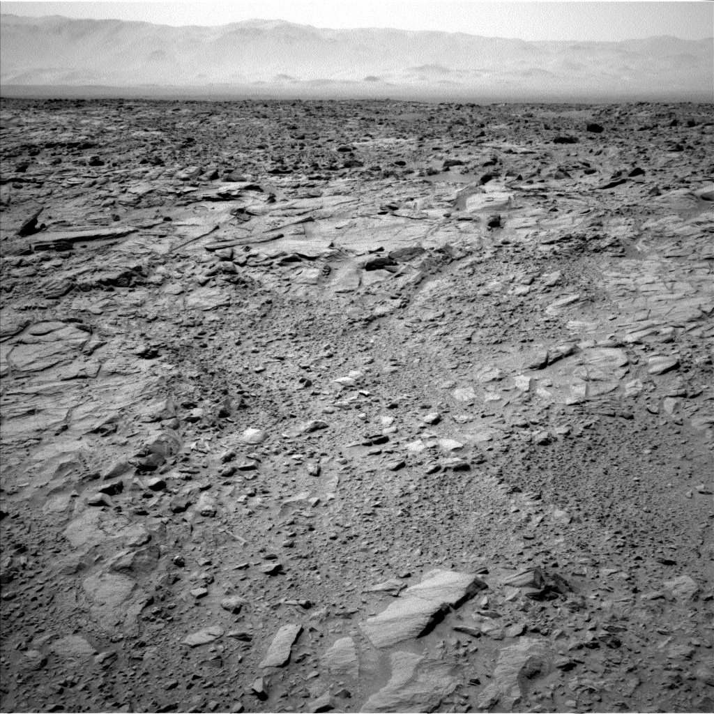Nasa's Mars rover Curiosity acquired this image using its Left Navigation Camera on Sol 738, at drive 592, site number 41