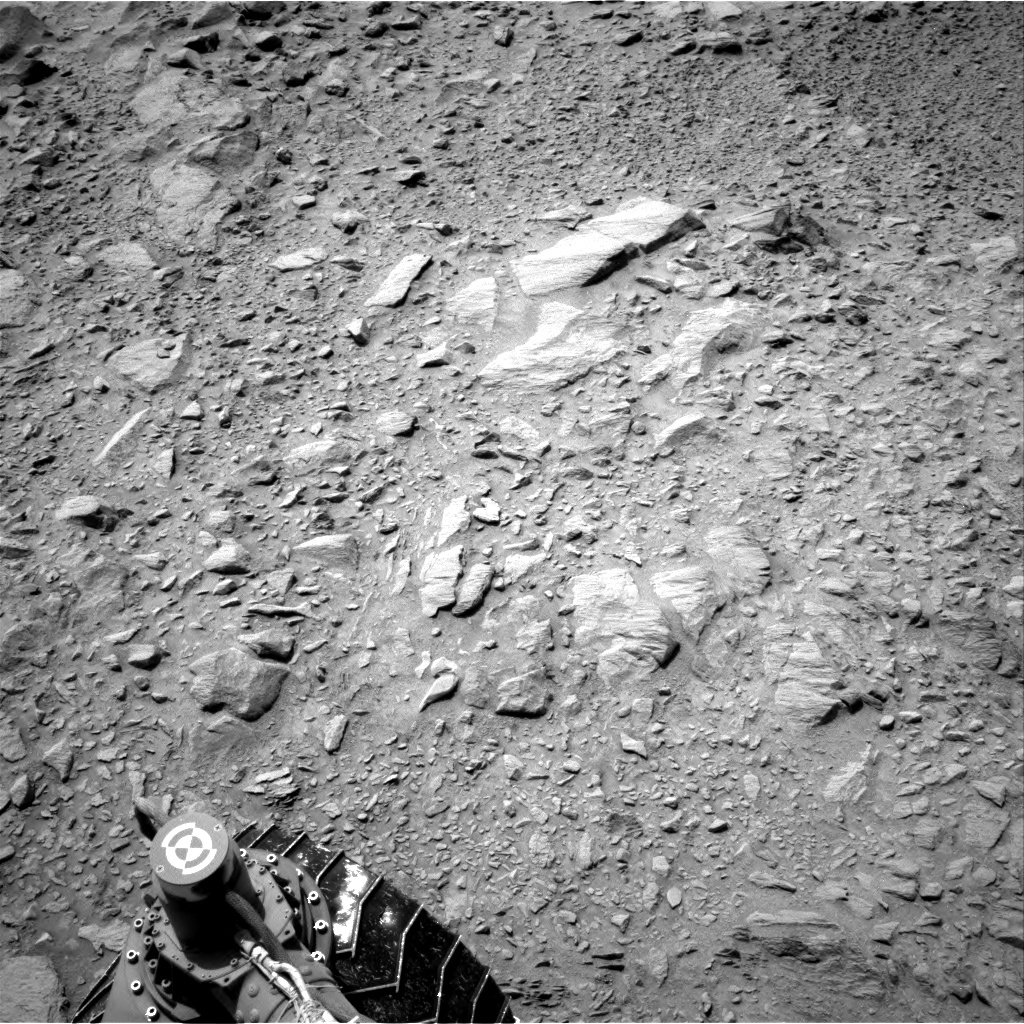 Nasa's Mars rover Curiosity acquired this image using its Right Navigation Camera on Sol 738, at drive 592, site number 41