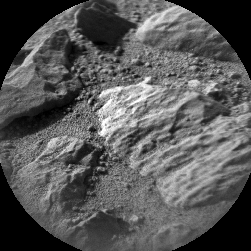 Nasa's Mars rover Curiosity acquired this image using its Chemistry & Camera (ChemCam) on Sol 738, at drive 592, site number 41