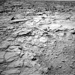 Nasa's Mars rover Curiosity acquired this image using its Left Navigation Camera on Sol 739, at drive 622, site number 41