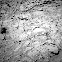 Nasa's Mars rover Curiosity acquired this image using its Left Navigation Camera on Sol 739, at drive 700, site number 41