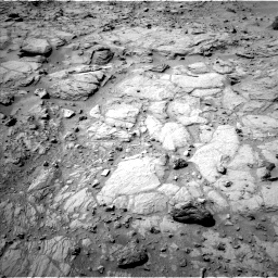 Nasa's Mars rover Curiosity acquired this image using its Left Navigation Camera on Sol 739, at drive 748, site number 41