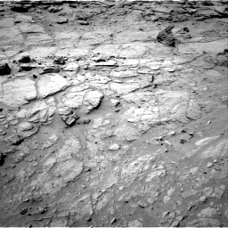 Nasa's Mars rover Curiosity acquired this image using its Right Navigation Camera on Sol 739, at drive 676, site number 41