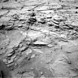 Nasa's Mars rover Curiosity acquired this image using its Left Navigation Camera on Sol 740, at drive 802, site number 41