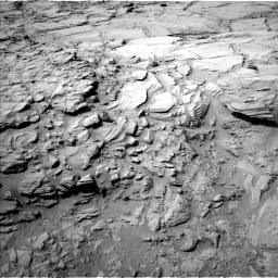 Nasa's Mars rover Curiosity acquired this image using its Left Navigation Camera on Sol 740, at drive 826, site number 41