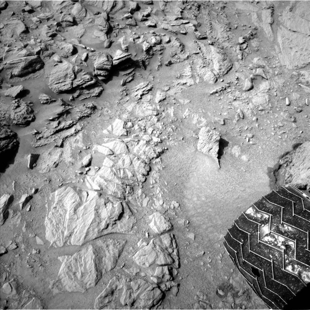 Nasa's Mars rover Curiosity acquired this image using its Left Navigation Camera on Sol 740, at drive 838, site number 41
