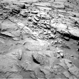 Nasa's Mars rover Curiosity acquired this image using its Right Navigation Camera on Sol 740, at drive 784, site number 41