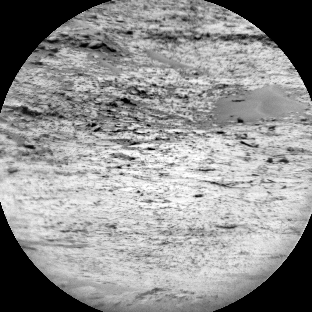 Nasa's Mars rover Curiosity acquired this image using its Chemistry & Camera (ChemCam) on Sol 740, at drive 748, site number 41