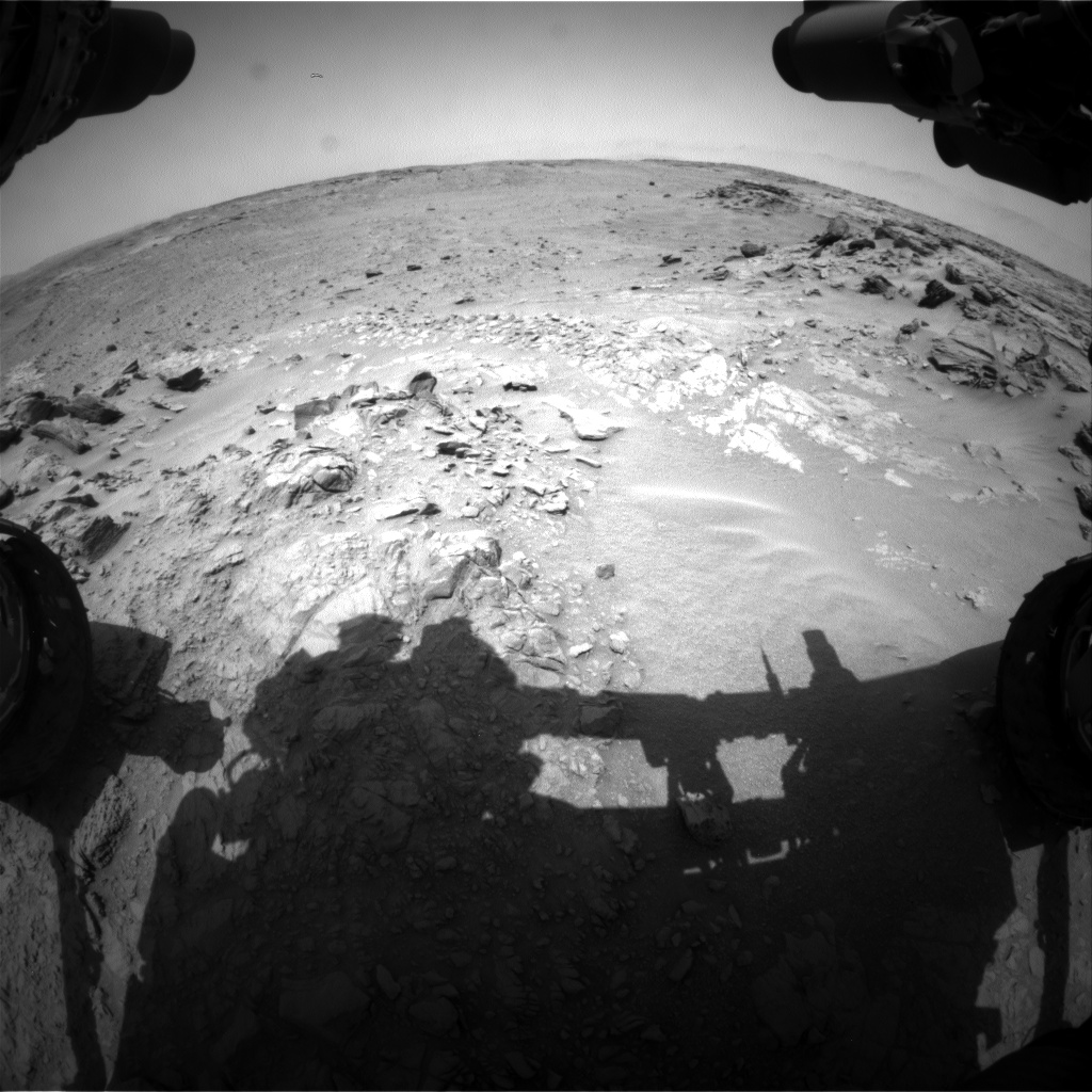 Nasa's Mars rover Curiosity acquired this image using its Front Hazard Avoidance Camera (Front Hazcam) on Sol 741, at drive 838, site number 41