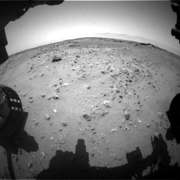 Nasa's Mars rover Curiosity acquired this image using its Front Hazard Avoidance Camera (Front Hazcam) on Sol 743, at drive 1120, site number 41
