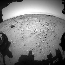 Nasa's Mars rover Curiosity acquired this image using its Front Hazard Avoidance Camera (Front Hazcam) on Sol 743, at drive 1126, site number 41