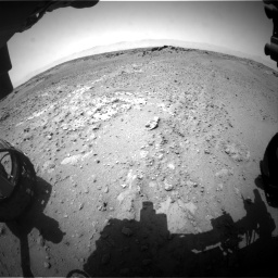 Nasa's Mars rover Curiosity acquired this image using its Front Hazard Avoidance Camera (Front Hazcam) on Sol 743, at drive 1138, site number 41