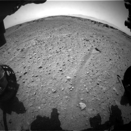 Nasa's Mars rover Curiosity acquired this image using its Front Hazard Avoidance Camera (Front Hazcam) on Sol 743, at drive 1252, site number 41