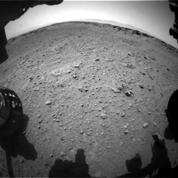Nasa's Mars rover Curiosity acquired this image using its Front Hazard Avoidance Camera (Front Hazcam) on Sol 743, at drive 1258, site number 41