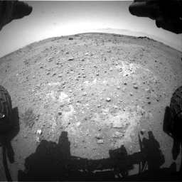 Nasa's Mars rover Curiosity acquired this image using its Front Hazard Avoidance Camera (Front Hazcam) on Sol 743, at drive 1108, site number 41