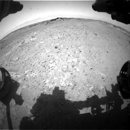 Nasa's Mars rover Curiosity acquired this image using its Front Hazard Avoidance Camera (Front Hazcam) on Sol 743, at drive 1144, site number 41