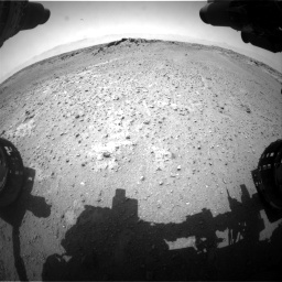Nasa's Mars rover Curiosity acquired this image using its Front Hazard Avoidance Camera (Front Hazcam) on Sol 743, at drive 1150, site number 41