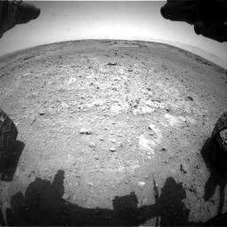 Nasa's Mars rover Curiosity acquired this image using its Front Hazard Avoidance Camera (Front Hazcam) on Sol 743, at drive 1162, site number 41