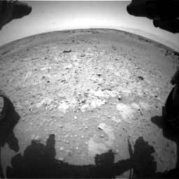 Nasa's Mars rover Curiosity acquired this image using its Front Hazard Avoidance Camera (Front Hazcam) on Sol 743, at drive 1168, site number 41