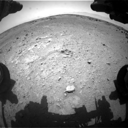 Nasa's Mars rover Curiosity acquired this image using its Front Hazard Avoidance Camera (Front Hazcam) on Sol 743, at drive 1192, site number 41
