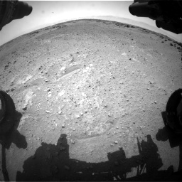 Nasa's Mars rover Curiosity acquired this image using its Front Hazard Avoidance Camera (Front Hazcam) on Sol 743, at drive 1198, site number 41