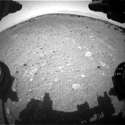 Nasa's Mars rover Curiosity acquired this image using its Front Hazard Avoidance Camera (Front Hazcam) on Sol 743, at drive 1204, site number 41
