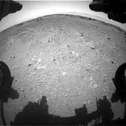 Nasa's Mars rover Curiosity acquired this image using its Front Hazard Avoidance Camera (Front Hazcam) on Sol 743, at drive 1210, site number 41