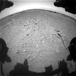 Nasa's Mars rover Curiosity acquired this image using its Front Hazard Avoidance Camera (Front Hazcam) on Sol 743, at drive 1222, site number 41