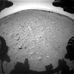 Nasa's Mars rover Curiosity acquired this image using its Front Hazard Avoidance Camera (Front Hazcam) on Sol 743, at drive 1228, site number 41