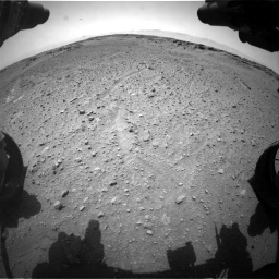 Nasa's Mars rover Curiosity acquired this image using its Front Hazard Avoidance Camera (Front Hazcam) on Sol 743, at drive 1234, site number 41