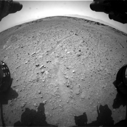 Nasa's Mars rover Curiosity acquired this image using its Front Hazard Avoidance Camera (Front Hazcam) on Sol 743, at drive 1240, site number 41