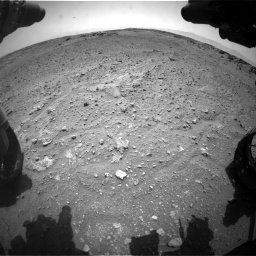 Nasa's Mars rover Curiosity acquired this image using its Front Hazard Avoidance Camera (Front Hazcam) on Sol 743, at drive 1264, site number 41