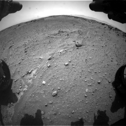 Nasa's Mars rover Curiosity acquired this image using its Front Hazard Avoidance Camera (Front Hazcam) on Sol 743, at drive 1282, site number 41