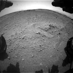 Nasa's Mars rover Curiosity acquired this image using its Front Hazard Avoidance Camera (Front Hazcam) on Sol 743, at drive 1288, site number 41