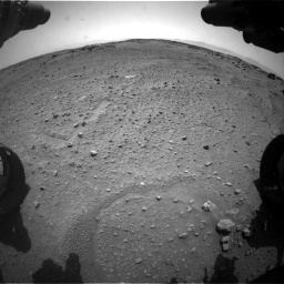 Nasa's Mars rover Curiosity acquired this image using its Front Hazard Avoidance Camera (Front Hazcam) on Sol 743, at drive 1294, site number 41