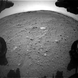 Nasa's Mars rover Curiosity acquired this image using its Front Hazard Avoidance Camera (Front Hazcam) on Sol 743, at drive 1300, site number 41