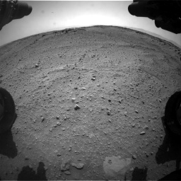 Nasa's Mars rover Curiosity acquired this image using its Front Hazard Avoidance Camera (Front Hazcam) on Sol 743, at drive 1306, site number 41