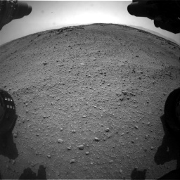 Nasa's Mars rover Curiosity acquired this image using its Front Hazard Avoidance Camera (Front Hazcam) on Sol 743, at drive 1318, site number 41