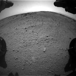 Nasa's Mars rover Curiosity acquired this image using its Front Hazard Avoidance Camera (Front Hazcam) on Sol 743, at drive 1324, site number 41