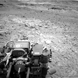 Nasa's Mars rover Curiosity acquired this image using its Left Navigation Camera on Sol 743, at drive 1162, site number 41