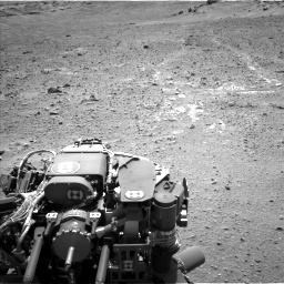 Nasa's Mars rover Curiosity acquired this image using its Left Navigation Camera on Sol 743, at drive 1204, site number 41