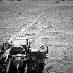 Nasa's Mars rover Curiosity acquired this image using its Left Navigation Camera on Sol 743, at drive 1252, site number 41