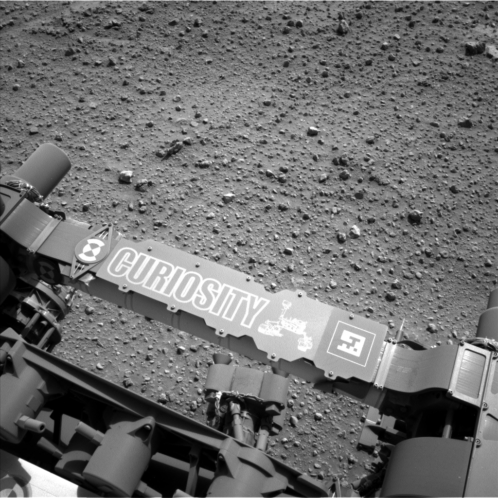 Nasa's Mars rover Curiosity acquired this image using its Left Navigation Camera on Sol 743, at drive 1330, site number 41