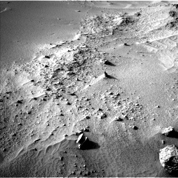 Nasa's Mars rover Curiosity acquired this image using its Left Navigation Camera on Sol 744, at drive 1552, site number 41