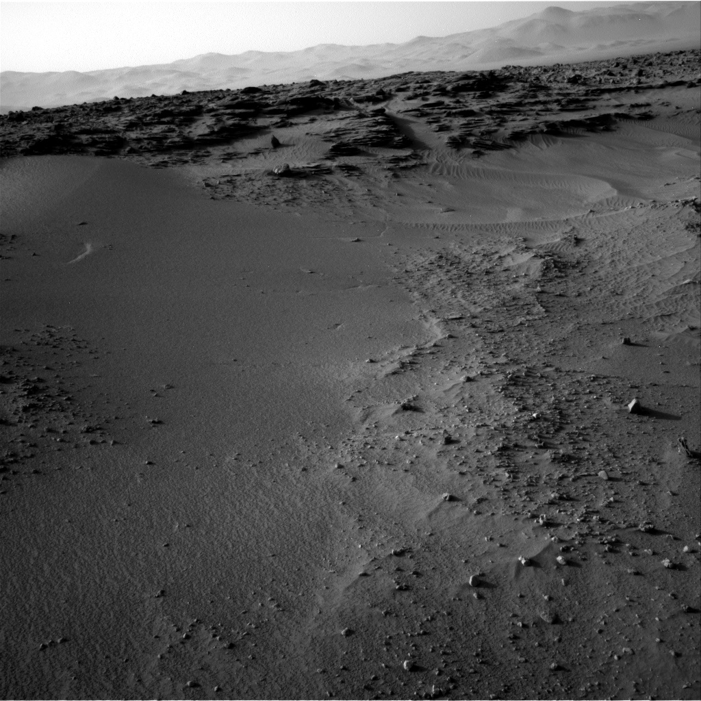 Nasa's Mars rover Curiosity acquired this image using its Right Navigation Camera on Sol 744, at drive 1570, site number 41